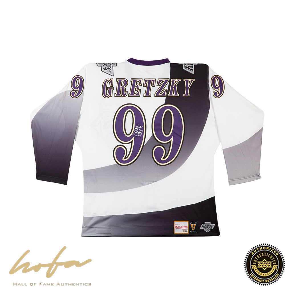newest collection b4ac4 538f9 WAYNE GRETZKY 1995-96 KINGS AUTHENTIC MITCHELL & NESS 'BURGER KING' JERSEY