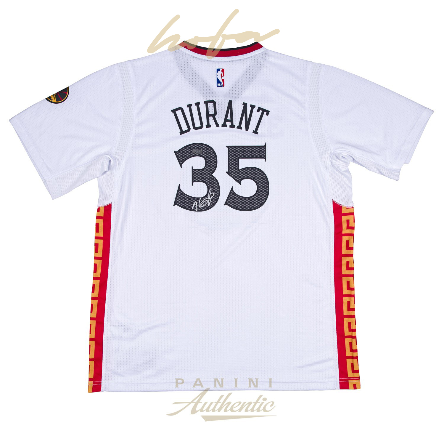 new product c37c4 d5f05 KEVIN DURANT AUTOGRAPHED CHINESE NEW YEAR SWINGMAN JERSEY