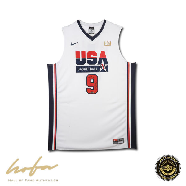 quality design a511d 1a603 MICHAEL JORDAN INSCRIBED