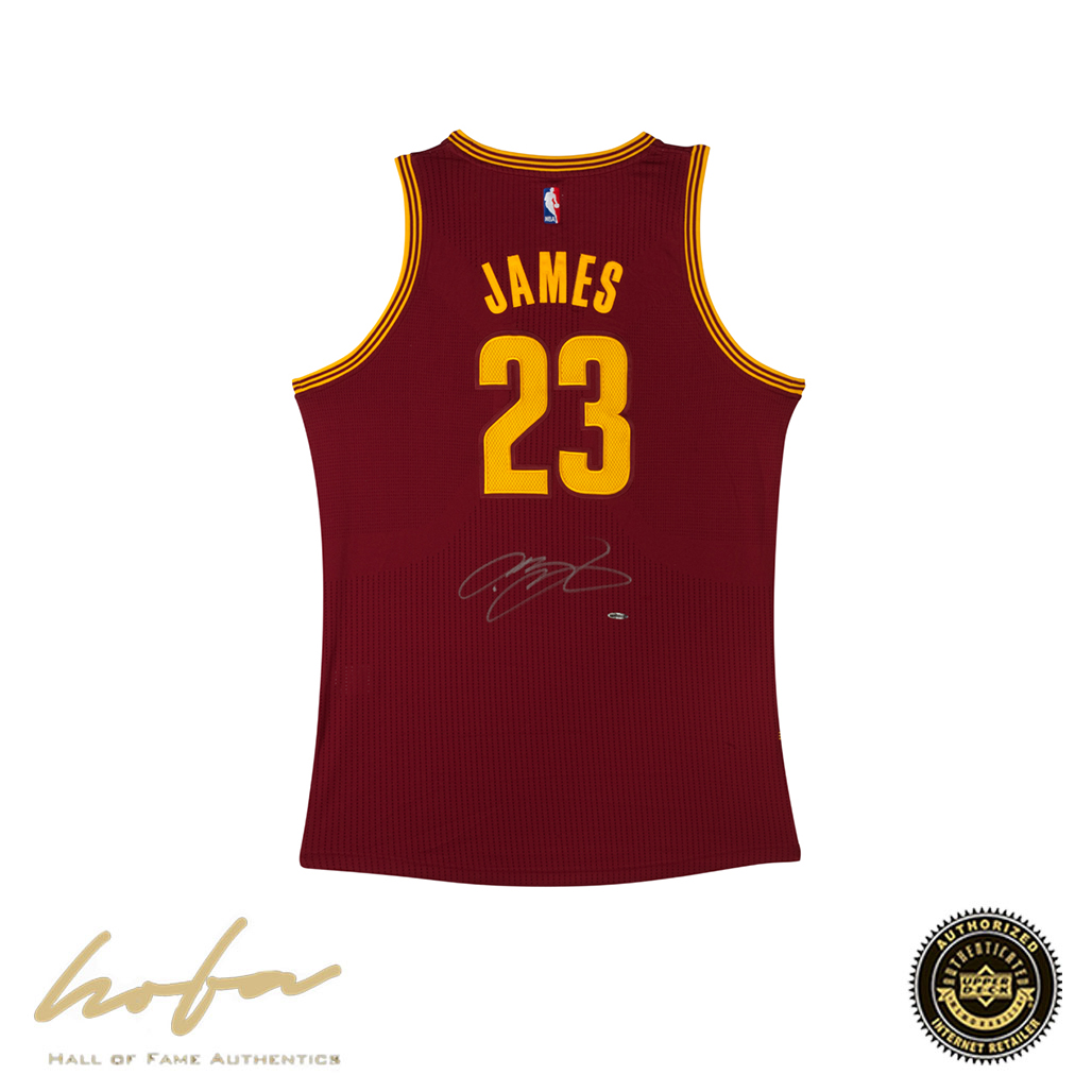 the best attitude fd2eb ad144 LEBRON JAMES CAVALIERS MAROON AWAY JERSEY