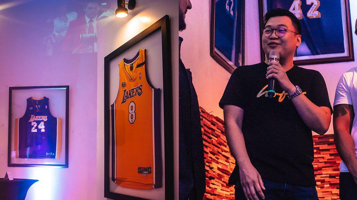 This Hardcore LA Lakers Fan Owns Rare Signed NBA Memorabilia