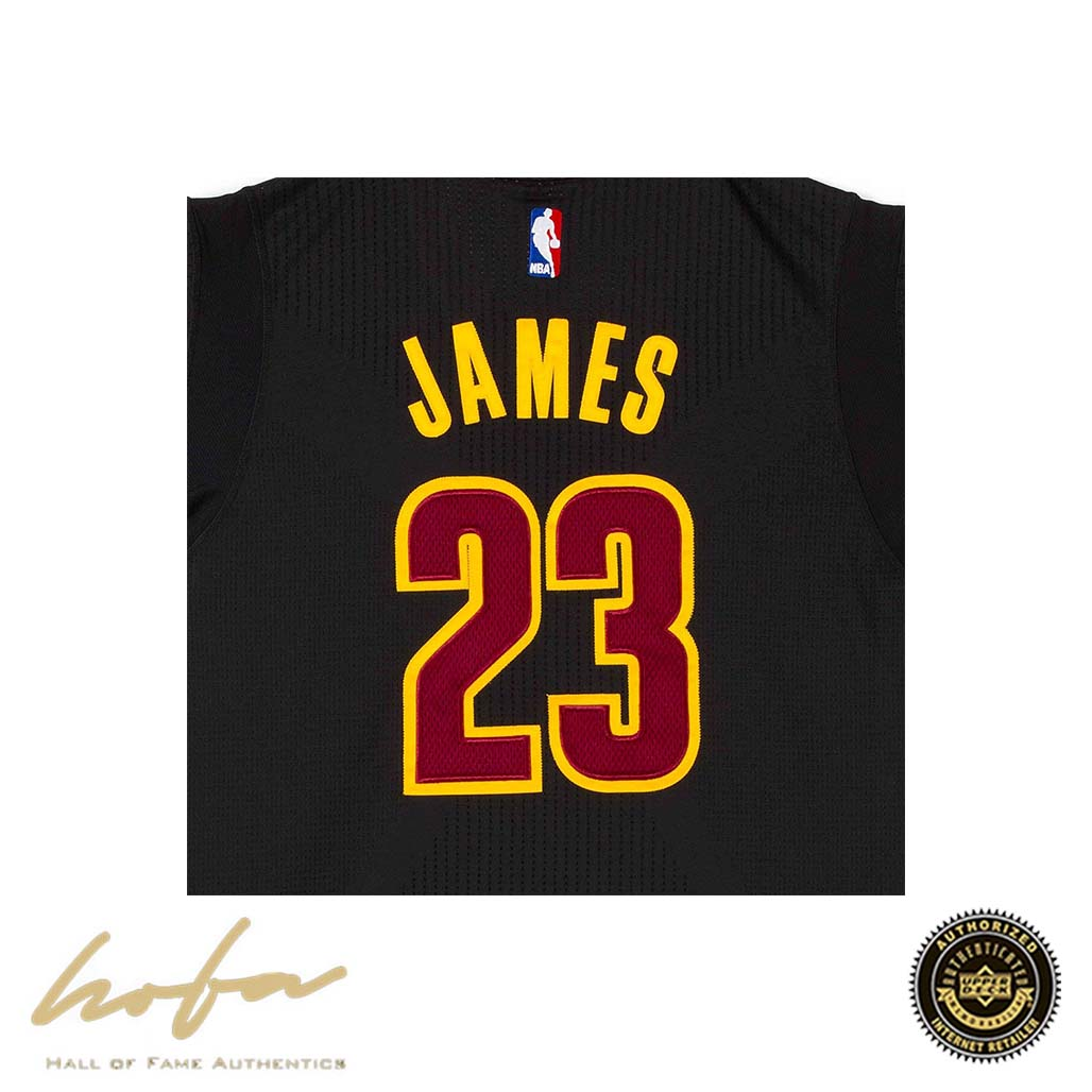 the best attitude 1e1a1 2c76c LEBRON JAMES CLEVELAND CAVALIERS BLACK JERSEY WITH 3X FINALS MVP &  CHAMPIONSHIP PATCHES