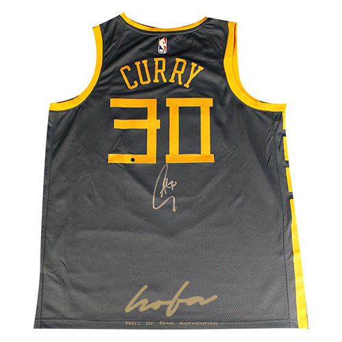 sports shoes 7c29b e6287 Stephen Curry Signed Golden State Warriors Nike Dri-FIT Men's Chinese  Heritage 'The Bay' City Edition Swingman Jersey - Indigo (On Court Style  with ...