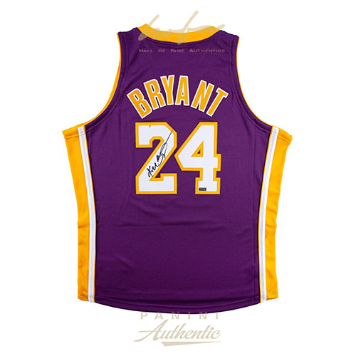 official photos a1815 133c3 KOBE BRYANT AUTOGRAPHED #24 LA LAKERS 2019 NIKE CITY EDITION Authentic  JERSEY