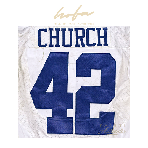 BARRY CHURCH GAME WORN DALLAS COWBOYS JERSEY FROM 12/14/2014 VS THE PHILADELPHIA EAGLES ~LIMITED EDITION 1/1~